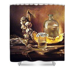 Countryside Still Life 2 Shower Curtain