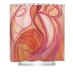 Courage's Nourishment Shower Curtain by Kelly K H B