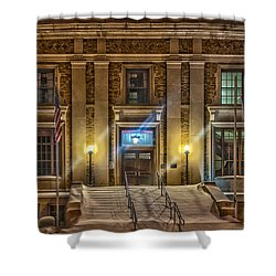 Courthouse Steps Shower Curtain by Paul Freidlund