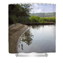 Cove Shower Curtain by Brian Wallace