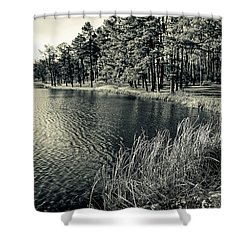 Shower Curtain featuring the photograph Cove by Greg Jackson