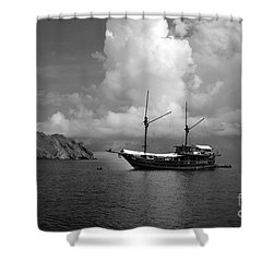 Cove  Shower Curtain by Sergey Lukashin