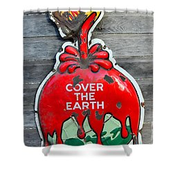 Cover The Earth Shower Curtain