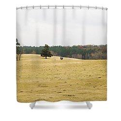Cow Pasture 2 Shower Curtain