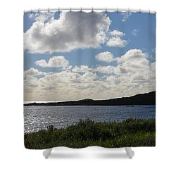 Cowaramup Bay 2.2 Shower Curtain by Cheryl Miller