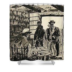 Cowboys Shower Curtain