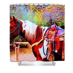 Cowgirl Up Shower Curtain
