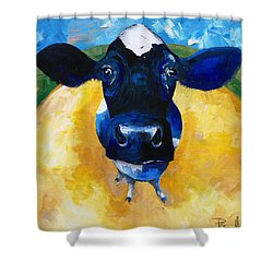 Cowtale Shower Curtain