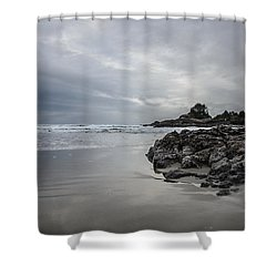 Cox Bay Afternoon  Shower Curtain