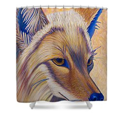 Coyote Summer Shower Curtain
