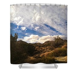 Coyote Wash Dressed Up Shower Curtain