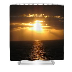Cozumel Mexico Sunset Shower Curtain