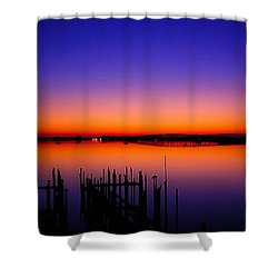 Crack Of Dawn Shower Curtain
