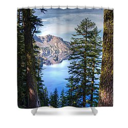 Crater Lake 1 Shower Curtain
