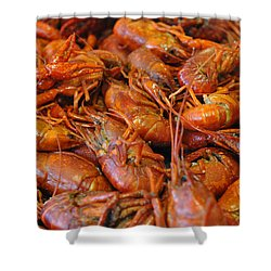 Crawfish Boil Shower Curtain