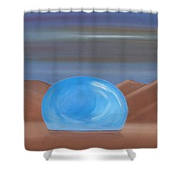 Creation 1 Shower Curtain by Tim Mullaney