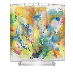 Creative Expression Shower Curtain