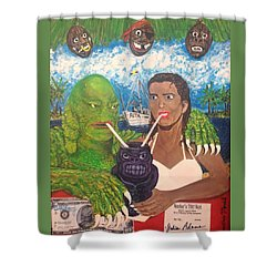 Creature Comforts Shower Curtain