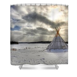 Cree Tepee Shower Curtain