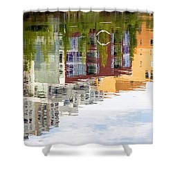 Shower Curtain featuring the photograph Creekside Reflections by Kate Brown