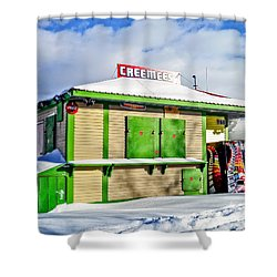 Creemees Shower Curtain by Edward Fielding