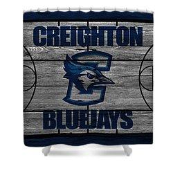 Creighton Bluejays Shower Curtain