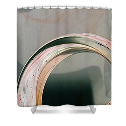 Crescent Turn Shower Curtain by Joy Angeloff