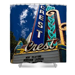 Crest Theater Shower Curtain