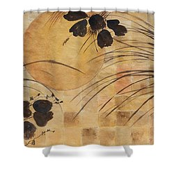 Cricket And The Moon Shower Curtain by Patricia Novack