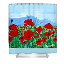 Crimea 2007. Soul Collection Shower Curtain