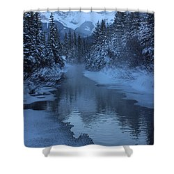 Shower Curtain featuring the photograph Crisp by Ramona Johnston