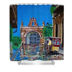 Capilla De Cristo - Old San Juan Shower Curtain