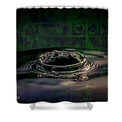 Croc Splash Shower Curtain by LeeAnn McLaneGoetz McLaneGoetzStudioLLCcom