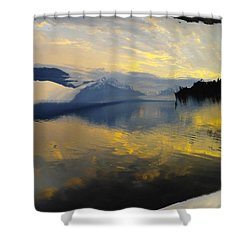 Crooked Frame Shower Curtain by Jeff Swan