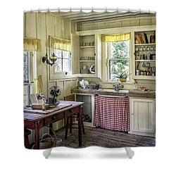 Cross Creek Country Kitchen Shower Curtain by Lynn Palmer