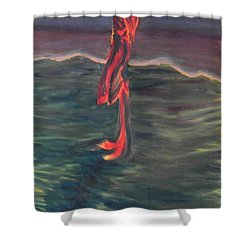 Cross Impression 1 Shower Curtain