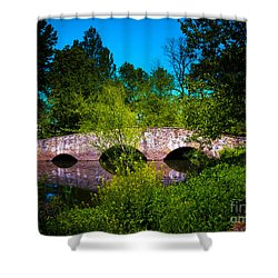 Cross Over The Bridge Shower Curtain
