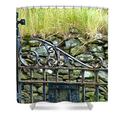 Crossing Gate Shower Curtain
