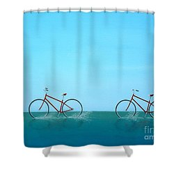 Crossing The Sound Shower Curtain