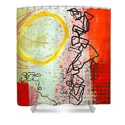 Crossroads 33 Shower Curtain by Jane Davies