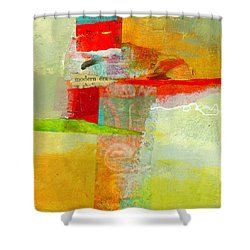 Crossroads 55 Shower Curtain by Jane Davies