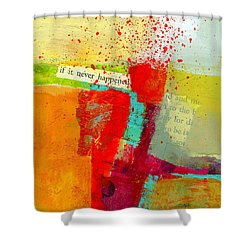 Crossroads 58 Shower Curtain by Jane Davies