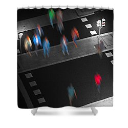 Crosswalk Shower Curtain