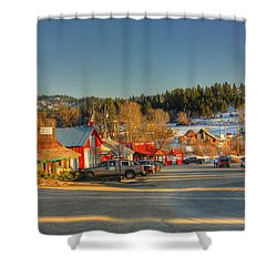Crouch Main St Shower Curtain