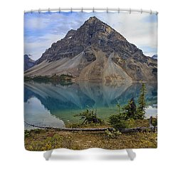 Crowfoot Mountain Banff Np Shower Curtain
