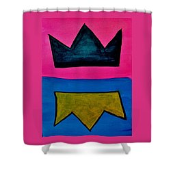 Crowns Shower Curtain