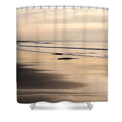 Croyde At Dusk Shower Curtain by Anne Gilbert