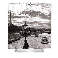 Cruise On The Seine Shower Curtain