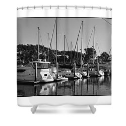 Shower Curtain featuring the digital art Cruising San Diego Style by Kirt Tisdale