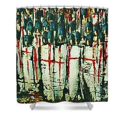 Crusade Shields 4. Shower Curtain